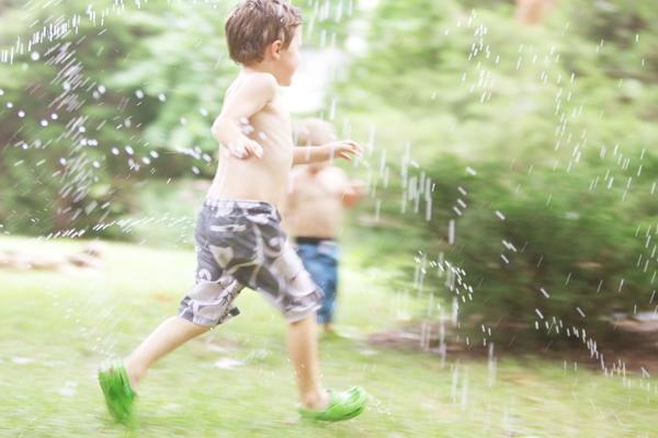 running in summer