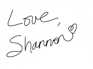 love Shannon