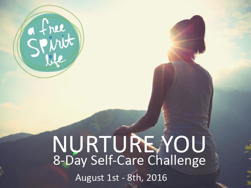 Nurture You Self-Care Challenge