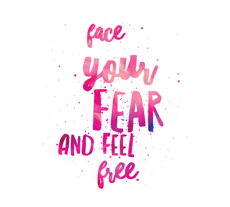 Fear sucks.  (Live Freely Circle starts tomorrow.)