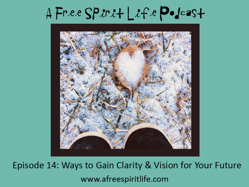 Podcast Episode 14: Ways to Gain Clarity & Vision for Your Future